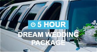 5-Hour Dream Wedding Package